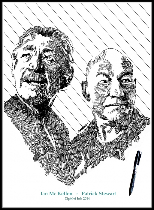Ian McKellen, Patrick Stewart por cipta